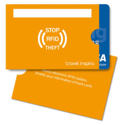 10PCS RFID Secure Credit Blocking Card Holder Sleeve Anti-theft Protector Slim