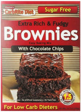 Doctor's CarbRite Diet - Chocolate Chip Brownie Mix, 11.5 oz