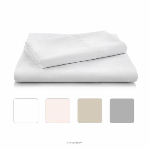 LINENSPA Brushed Microfiber Ultra Soft  - Wrinkle Resistant - Queen Pillowcases
