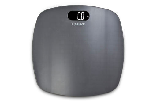 CAMRY 400lbs Digital Bathroom Scale Weight Management  LCD Display Dark Grey New