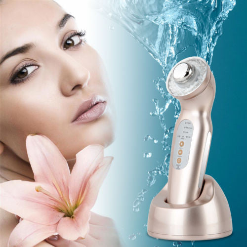 RAZZY Ultrasonic Facial Skincare Machine Handheld Rechargeable Double probes IPL