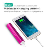 Portable Charger 3200mAh External Battery Pack Ultra bright flashlightPink
