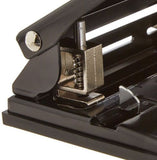 "Sparco SPR01796 Heavy Duty Adjustable 9/32"" 3 Hole Punch"