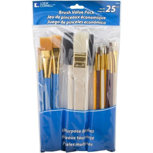 Loew-Cornell Brush Set Value Pack