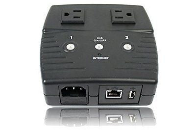 3Gstore Remote Power IP Switch - 2 Outlets