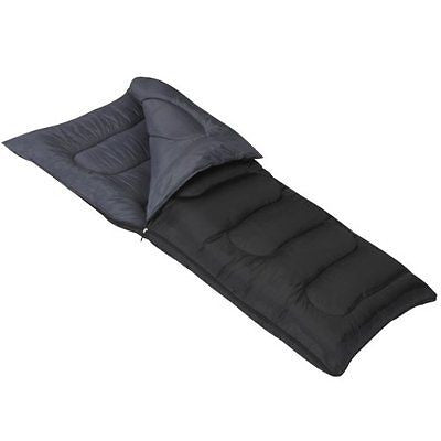 Mountain Trails Allegheny 25-Degree Sleeping Bag Black
