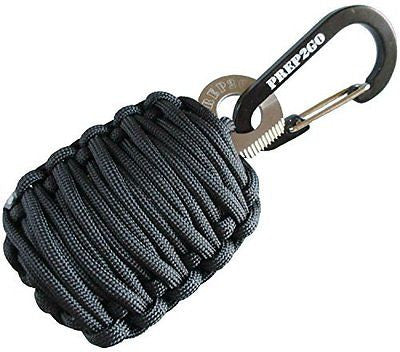 Emergency Survival Kit | Paracord Keychain: 25 Tools Bonus Wilderness Prepper