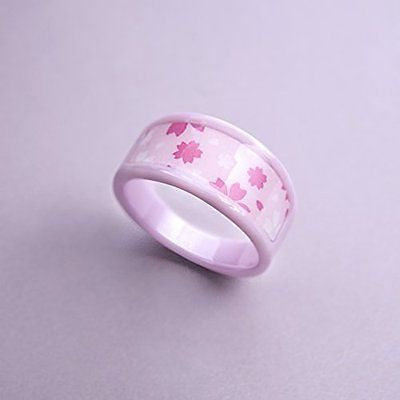 KEYDEX NFC Multi-function Ring #12 (2.10 In), Fine Ceramic, Waterproof Patent