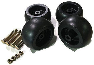 4 Pack Mower Deck Wheels Bolts Replacement for Cub Cadet RZT50 RZT54 LT1050