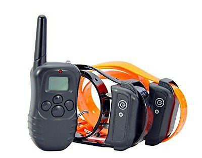 Dog shock collar, Ecoastal? Remote Dog Trainer For 2 Dogs With Beep Vibration