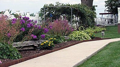 Brown Wooden Landscape Edging Try Our Landscape Edging Subtle Compliment.