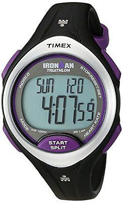 Timex Women's Ironman Road Trainer Digital HRM Flex Tech Chest Strap & Mid-Size