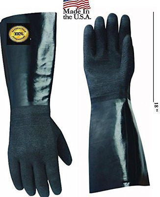 "Artisan Griller Insulated Cooking Gloves -17"" Length for Safe Barbecue Grilling"