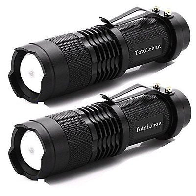 TotaLohan Mx11 Bright Torch 263 Lumens Mini Cree Led Flashlight Torch