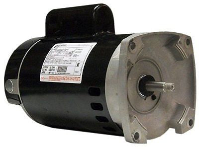 Century B2854 1-1/2 HP, 3450 RPM, 8.0/16.0 Amps, 1.1 Service Factor, 56Y Frame