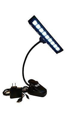 VlixIt Music Stand Light Clip On Orchestra LED Lamp - 9 LED Lights