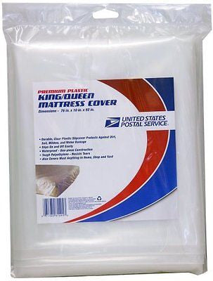 LePage's USPS Single King/Queen Mattress Cover for Moving, 76 x 10 x 92 Inches
