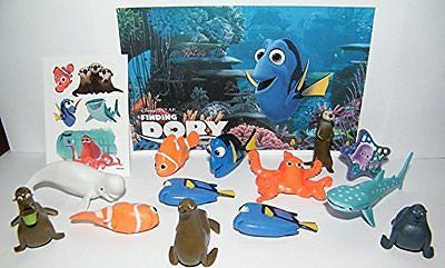Disney Finding Dory Movie Deluxe Party Favors Goody Bag Fillers Set of 14