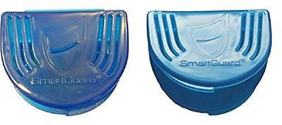 Dental Appliance Retainer Case (2) for Night Guard Storage