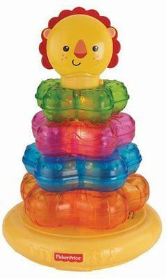 Fisher-Price Light-Up Lion Stacker