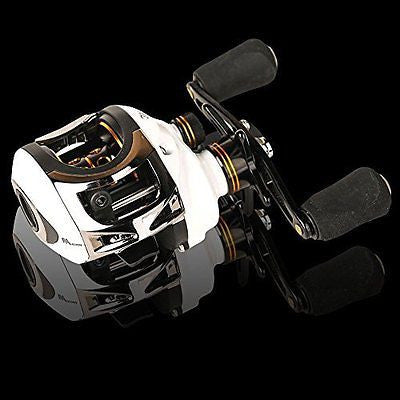 Fishing Reel Low Profile Casting Reel 10+1 Ball Bearings Baitcast Reel