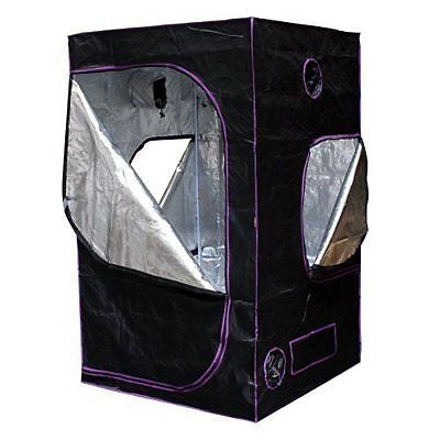 "Apollo Horticulture 48""x48""x80"" Mylar Hydroponic Grow Tent for Indoor Plant"