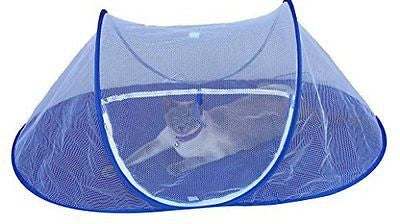 THE CAT HOUSE Indoor Outdoor Portable Catio Enclosure Pet Tent For Yard Balcony