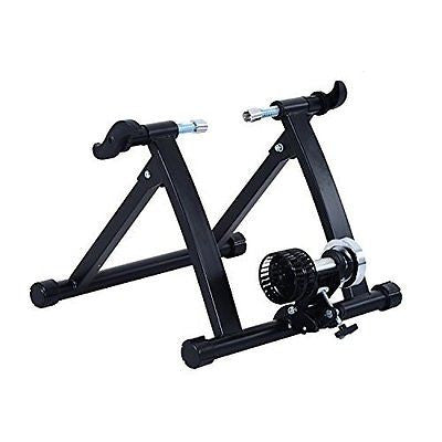 Soozier Kinetic Resistance Cycling Indoor Bike Trainer Stand - Black