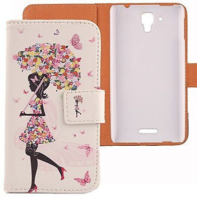Lankashi Pattern Design Leather Cover Skin Protection Case for Lenovo S8 S898