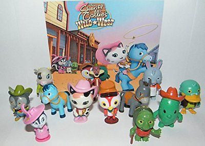 Disney Sheriff Callie's Wild West Deluxe Party Favors Goody Bag Fillers Set