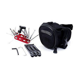 Bicycle Repair Set Bike Outdoor Seat Saddle Bag Multi Function Tool Kit