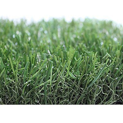 Premium Pro Turf ALL GREEN Synthetic Grass for landscaping playground areas
