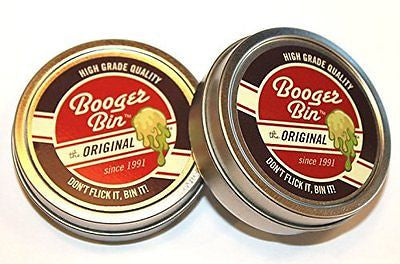 """Booger Bin"" - Funny great novelty gag gifts for men, for their 21st, 30th"