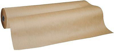 "Pacon 0066011 Natural Kraft Wrapping Paper Roll, 36"" x 100' Size, Brown"