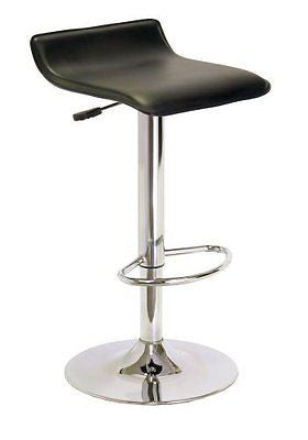 Winsome Spectrum ABS Airlift Swivel Stool Faux Leather