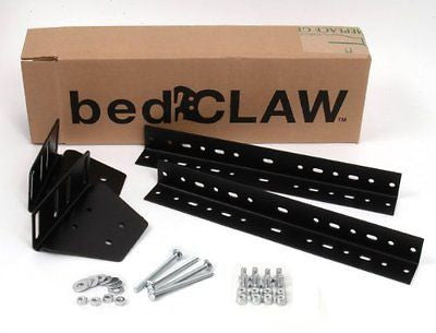 Bed Claw Universal Footboard Attachment Kit with Combo Bag Hardware