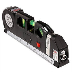 Coocheer Multi-Function Ruler, Laser Level laser measure Line 8 FT/2.5m Measure