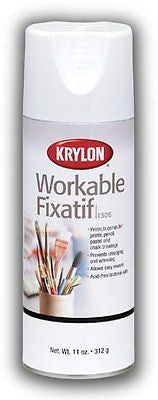 Fixative Provides Lasting Protection To Pencil, Pastel and Chalk Drawings