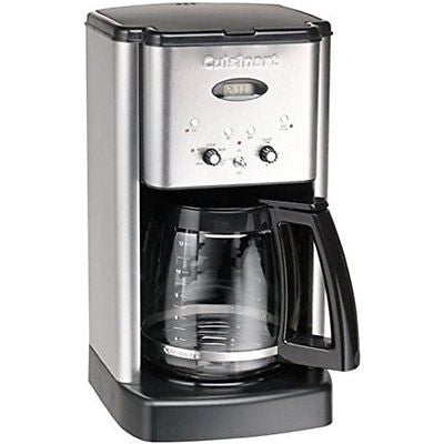 Cuisinart DCC-1200 Brew Central 12-Cup Coffeemaker Brushed Metal