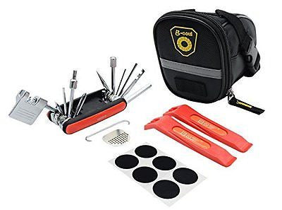 Bicycle Repair Set Bike Outdoor Seat Saddle Bag 17 in 1 Multi Function Tool Kit