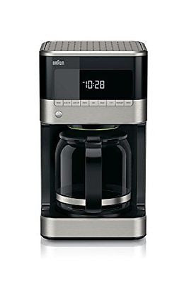 Braun KF7150BK Brew Sense Drip Coffee Maker, Black