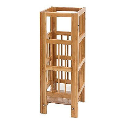 Songmics Natural Bamboo Umbrella Stand High Quality Holder Rack for Home Office