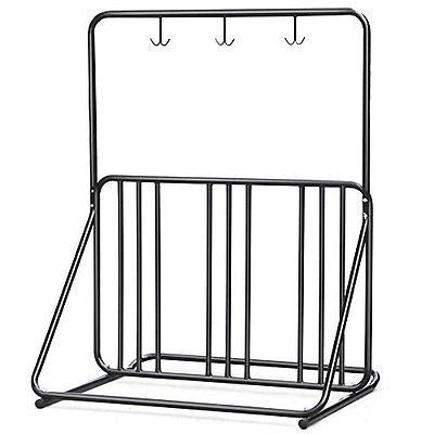 New Bicycle Parking Storage Rack 1-6 Bikes Steel Park Stand 2/3/4/5 Black