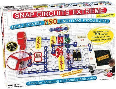 Snap Circuits Extreme SC-750 Electronics Discovery Kit Standard Packing