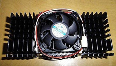 CPU Cooler Heatink + Fan for Pentium 2 (II), K7, Slot 1 Processors
