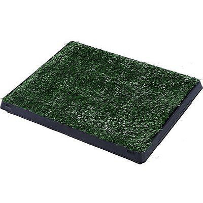 "Pawhut 24"" x 20"" Grass Pad Dog Potty"