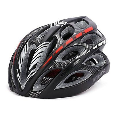 Gonex Adult Bike Helmet, Cycling Road Mountain Helmet with Safety Light