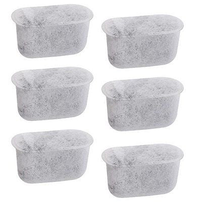 6-Replacement Charcoal Water Filters for Cuisinart Coffee Machines