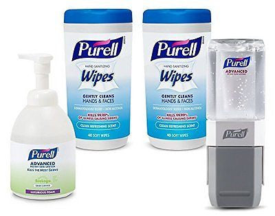 Purell 9120-K2-EC Classroom Teacher's Kit with Foam Hand Sanitizer