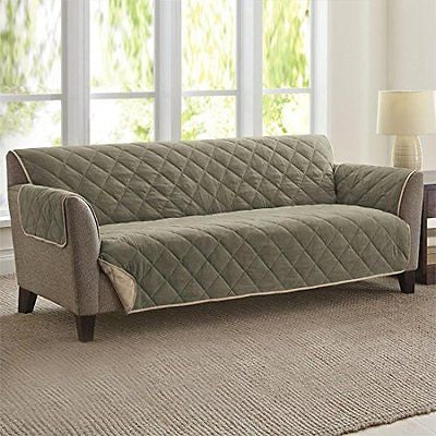 Brylanehome Reversible Pet Extra-Long Sofa Slipcover